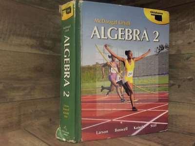 Holt McDougal Larson Algebra 2 Oklahoma Edition By Larson Laurie Boswell Tmoth EBay