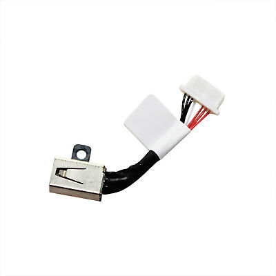 AC DC IN POWER JACK HARNESS CABLE PLUG FOR DELL INSPIRON P55F001 P55F002 P55F003