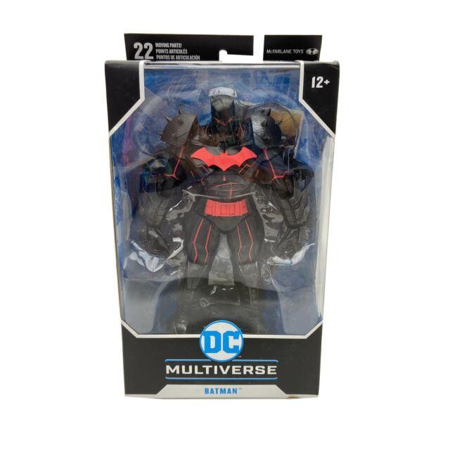 Batman Hellbat Suit Armor McFarlane DC Multiverse Action Figure Comic Series New