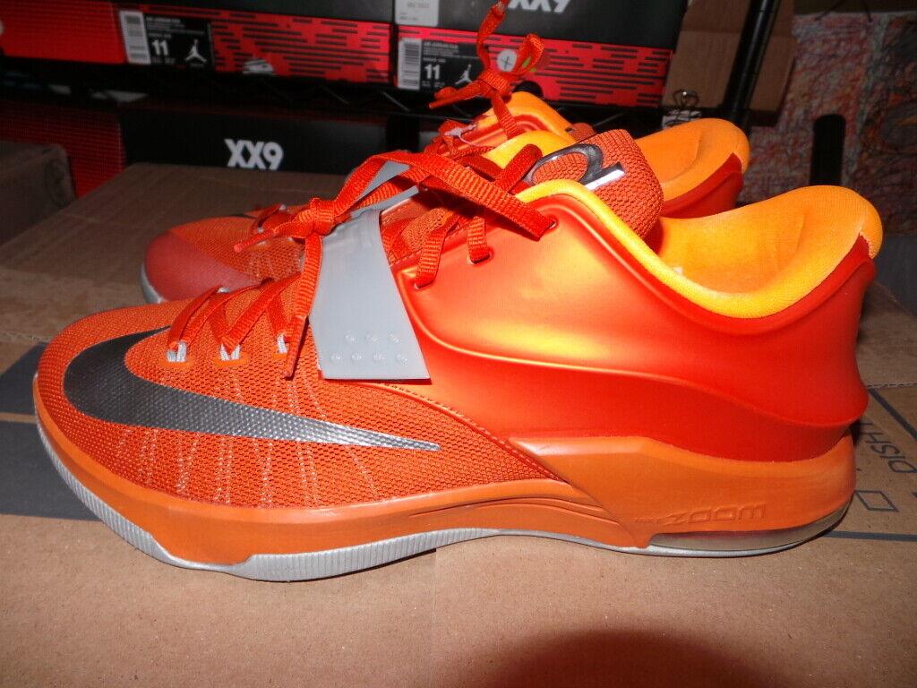 KD7 KD 7 VII Nike Air Kevin Durant Texas Longhorns PE