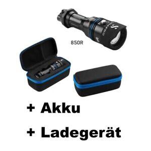 Scubapro NOVA 850R Tauchlampe - (mit Akku und Ladegerät)