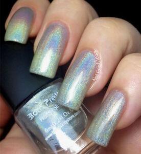 Holographisch Holo Nagellack Glitzer Holographic Nagel Polierung Nail Art #1 | EBay