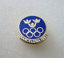 1992 BARCELONA Olympics SWEDEN NOC  pin badge