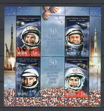 Moldova 2011 50th Anniversary of the First Manned Space Flight 4 MNH stamps