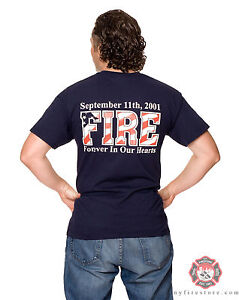 FDNY-11th-septembre-2001-Fire-WTC-Memorial-Tee