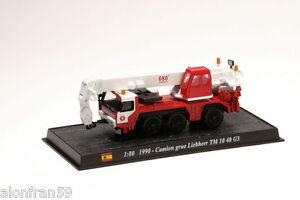 Coche-Bomberos-Diecast-1990-CAMION-GRUE-LIEBHERR-TM-10-40-G3-1-80-CBO021