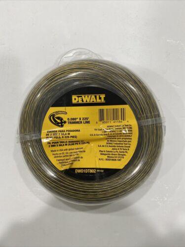 DEWALT 0.080 in String Trimmer Line DWO1DT802 New x 225 ft