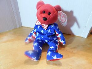 "Ty~Beanie Babies ""Liberty"" The Bear"