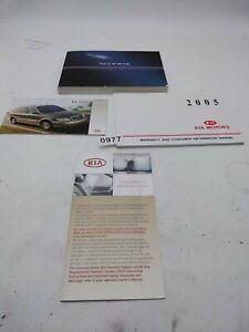 2005 Kia Sedona Owner's Manual