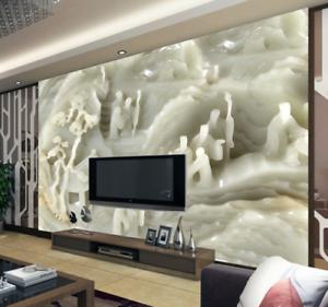 3D Arbour White 418 Wallpaper Murals Wall Print Wallpaper Mural AJ WALL AU Kyra