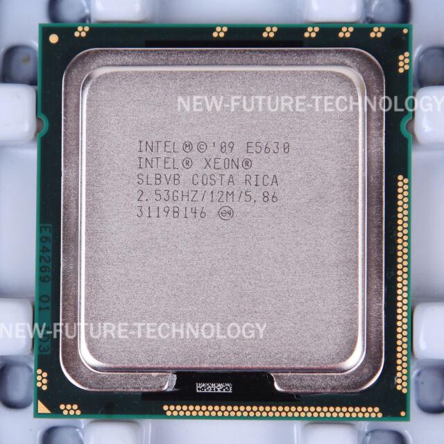 Intel Xeon E5630 (AT80614005463AA) SLBVB CPU 2933/2.53 GHz LGA 1366 100% Work