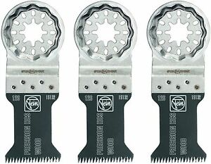 FEIN-PRECISION-BLADES-STARLOCK-63502126270-FITS-MOST-OSCILLATING-TOOLS-3-Pk