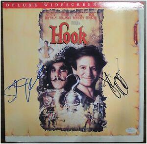 Steven Spielberg Dustin Hoffman Dual Signed Autographed Hook Laser Disk JSA