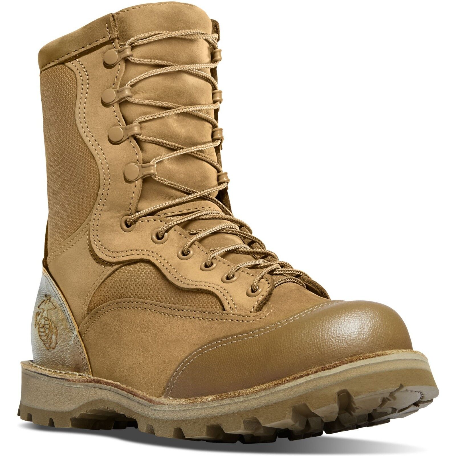 Danner Men's 15610X USMC Rat 8  Mojave Steel Toe EH Military Special Ops Boots
