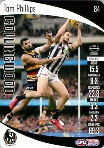 New-2020-COLLINGWOOD-MAGPIES-AFL-Card-TOM-PHILLIPS-Teamcoach