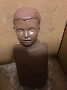 9201043ff1 LAERDAL LITTLE ANNE JUNIOR DARK SKIN CPR TRAINING MANIKIN EMT FIRST ...