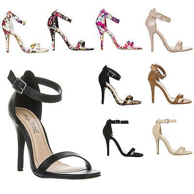 Women Ankle Strap High Heel Shoe Sandal Shoe ENZO/GIRLTAK/CHARLIE