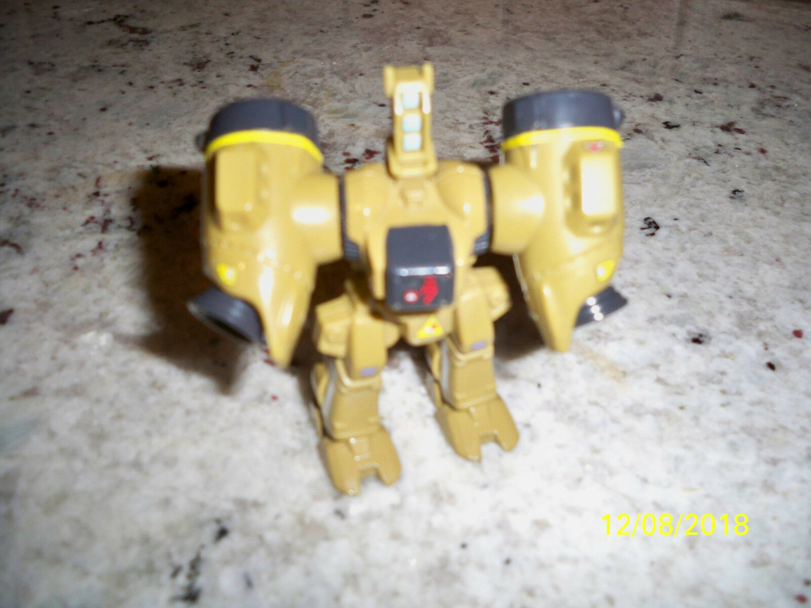 1985 Matchbox Robotech Spartan Diecast and plastic 3 inch figure vintage macross