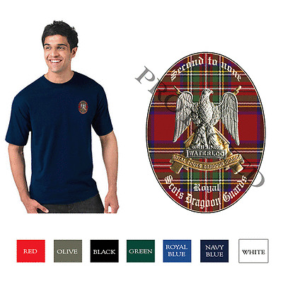 Royal Scots Dragoon Guards Personalised T Shirt