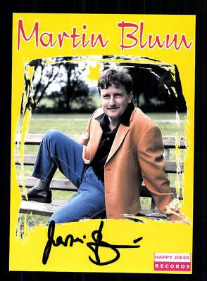 Musik Martin Blum Autogrammkarte Original Signiert ## Bc 127683 Gut FüR Energie Und Die Milz