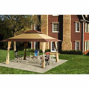 Image Is Loading Patio Gazebo Canopy 13 X 13 Ft Outdoor