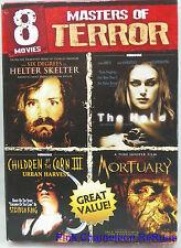 Masters of Terror: 8 Horror Movies [2 DVD Discs] Halloween Fun!