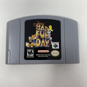 Conker-Bad-Fur-Day-Nintendo-64-N64-Reproduction-Game-Cartridge-Tested-US-Seller