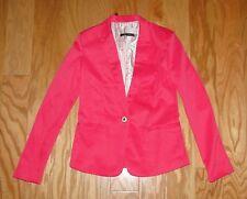 Zara Woman Single Button Blazer NWT Size S Hot Pink Jacket Fashion