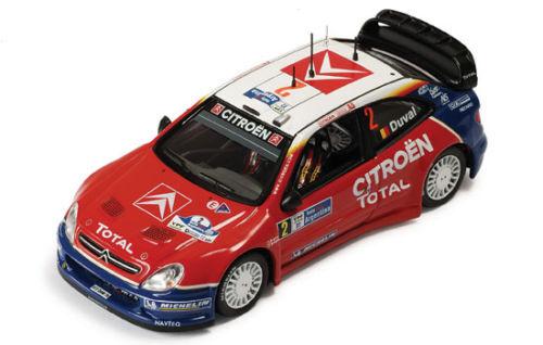 IXO 1 43 43 43 CITROEN XSARA WRC RALLY plataINA 2005 DUVAL SMEETS  RAM200 21d5cd