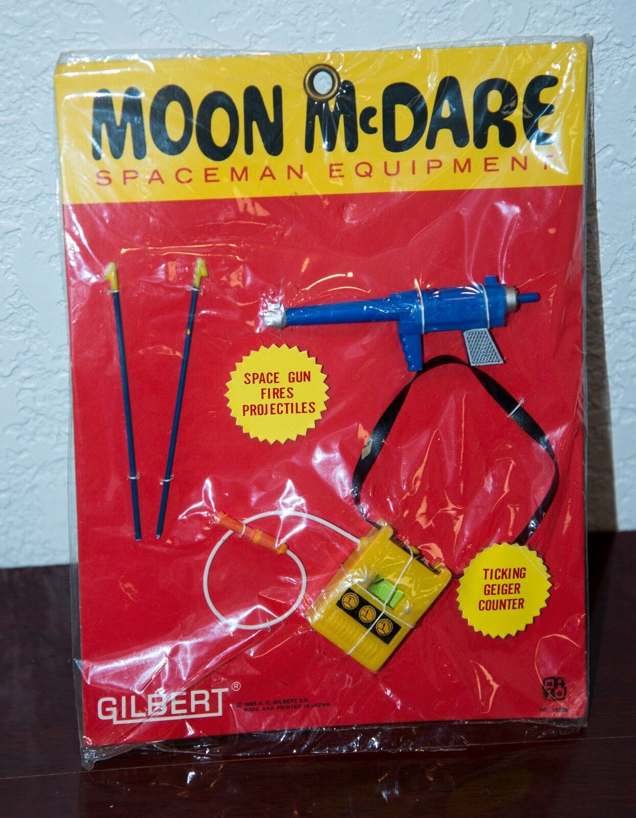 1965 Gilbert Moon mcdare Accessories Kit For Action Figure Neuf En Paquet