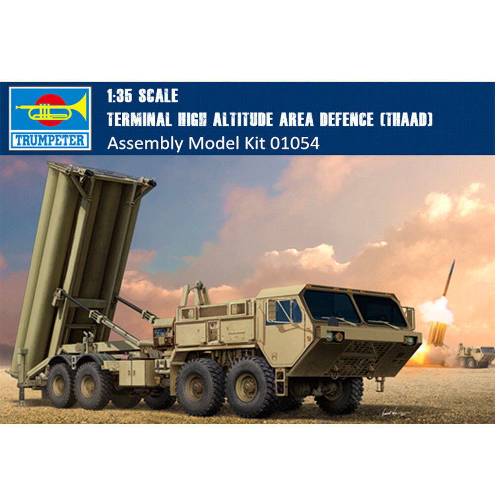 01054 Trumpeter 1 35 Scale Model Terminal High Altitude Area Defence (THAAD)