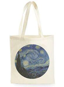 Cool Compras Ver Funny De Gogh Original Regalo Ideal Título Bolso Detalles Van Lona I7mfg6Ybyv