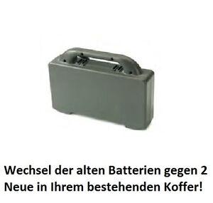 Numatic Batterie//changement de pile pour Batterie valise akkukoffer 606260 de ttb1840