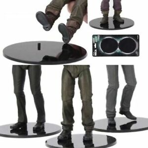 6-8-034-Inch-Action-Figure-Display-Stand-10-Pack-Compatible-Figure-Black