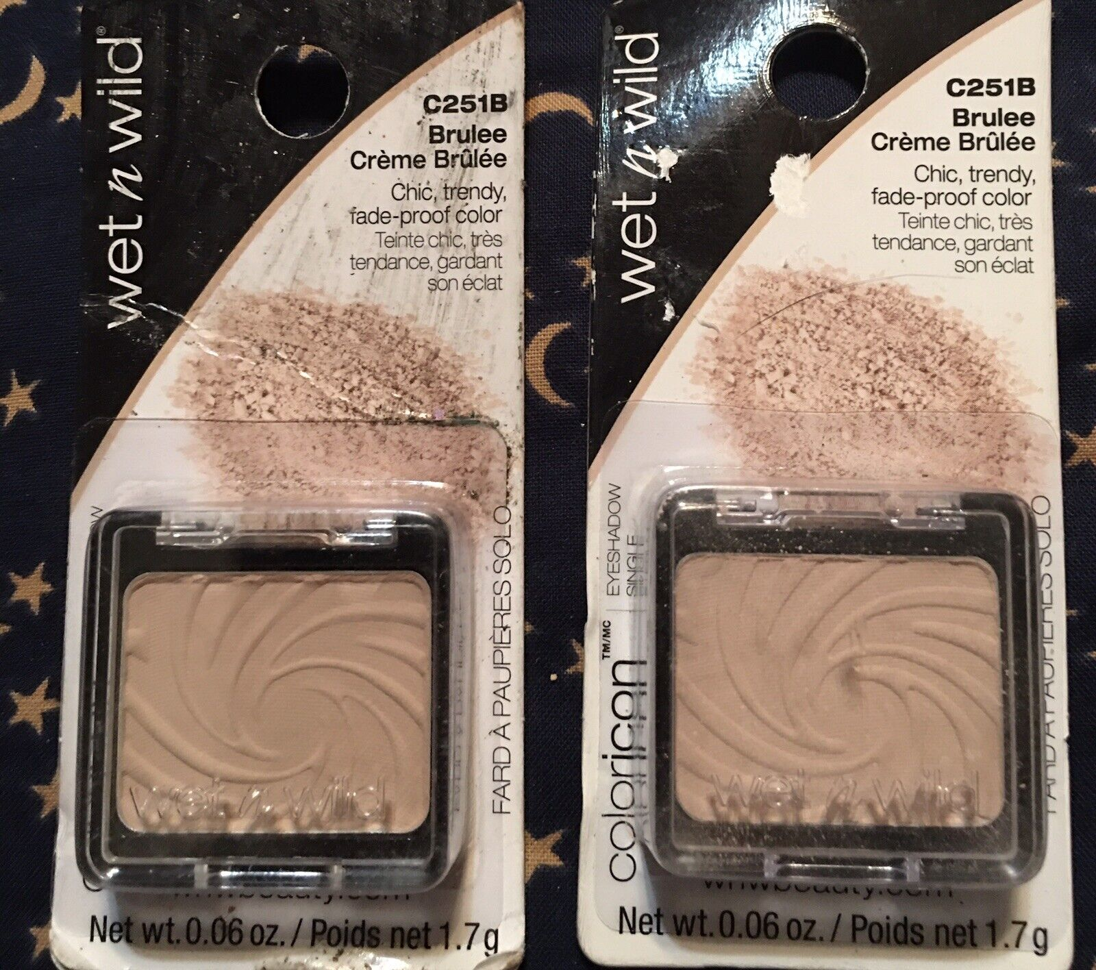 Wet N Wild Color Icon Eyeshadow Single 251b Brulee 0 06 Oz For Sale Online Ebay