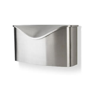 Image Is Loading Umbra Postino Brushed Stainless Steel Wall Mount Modern
