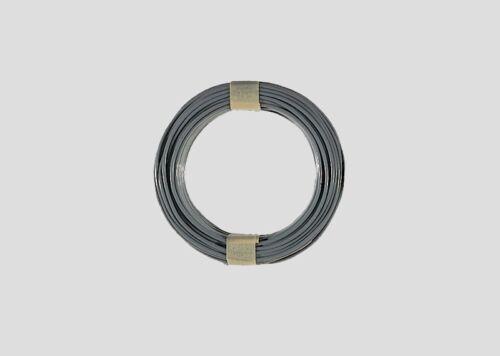 1 m = 0,29 € MÄRKLIN 7100 Câble Gris 10 m article neuf