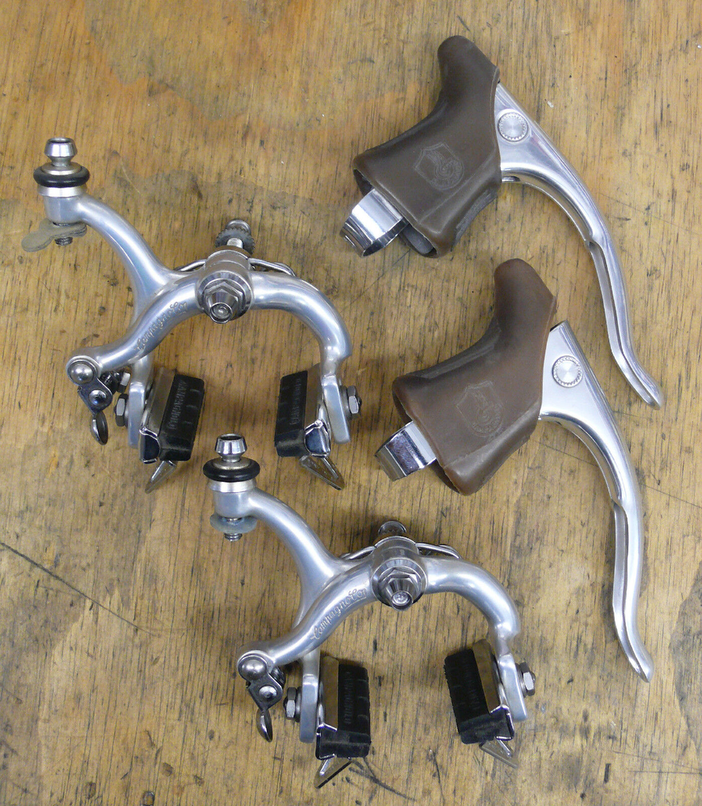 Campagnolo Brake set Triomphe 52mm reach Recessed Vintage Road Bicycle NOS