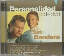 CD / DVD Sin Bandera CD Personalidad 19 Tracks & 17 Videos BRAND NEW