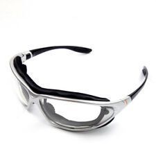 Emgo Roadhawk Goggles UV400 Anti Fog Lens Riding Cruising Harley Davidson Suzuki