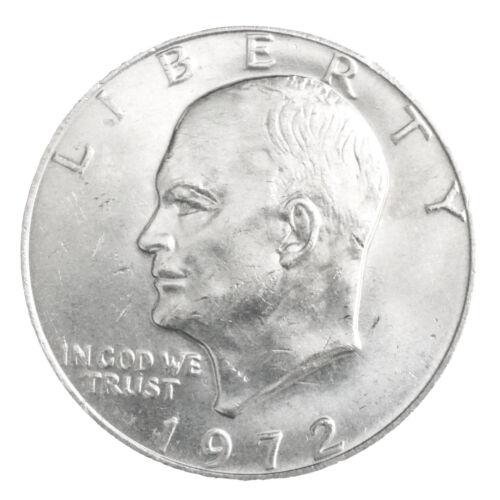 1972 BU Eisenhower Dollar