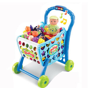 Shopping-Cart-Filled-38-tlg-for-Children-Accessories-Market-Stall-Purchase-Load
