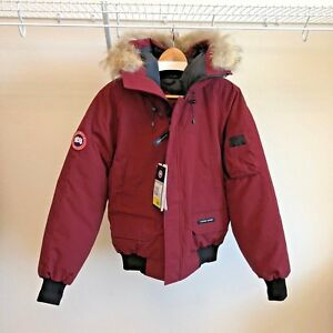 Canada-Goose-Men-039-s-Chilliwack-Bomber-Parka-Niagara-Grape-Medium