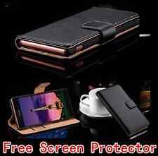 Luxury Premium Leather Stand Flip Wallet Case Cover For Sony Xperia XZ Premium