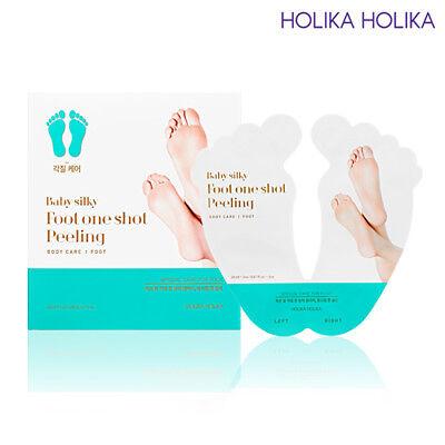 [Holika Holika] Baby Silky Foot One Shot Peeling (1 Pair) / Korean Cosmetic