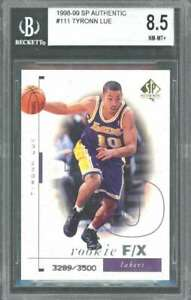 1998-99-sp-authentic-111-TYRONN-LUE-lakers-rookie-card-BGS-8-5-9-5-8-8-5-9-5
