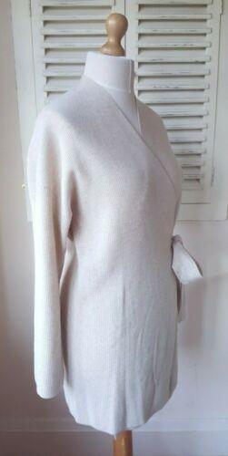 cintura Robe con Oatmeal Per 100 Rosie cashmere 14 Spencer Marks Autograph Bnwt wq8zvpHW