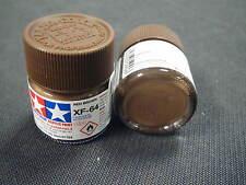 "Tamiya ""Mini"" Acrylic model paint - XF-64 81764 Red Brown (flat)"