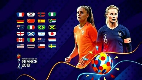 FIFA 2019 WOMEN/'S WORLD CUP FRIG MAGNET
