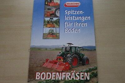 Honig 163501 Maschio Bodenfräsen Prospekt 05/2009 Literatur & Videos